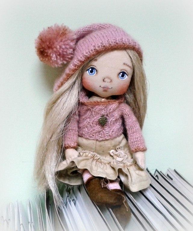 Шьем из ткани куклы своими руками