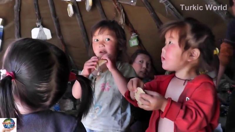 Цаатаны - тюрки Северной Монголии. Kuzey Moğolistan türkleri - Dukhalar
