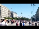 Бранденбургские ворота (Берлин, Германия, июль 2018)