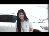 Sulli at Incheon Airport (to Germany (Berlin) for Jinri Store) (180630)