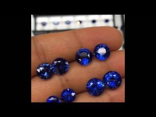 6-8 Carat Ceylon ROYAL BLUE Sapphire Matched Pairs.