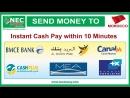 NEC Money Transfer Service in Worldwide