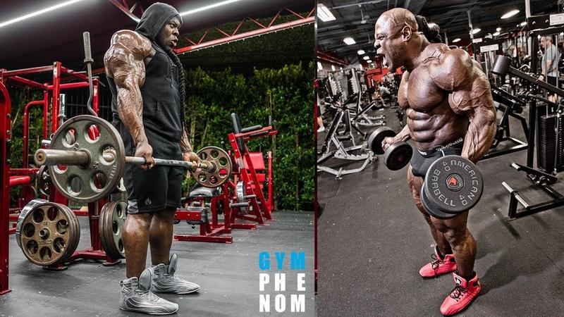 Kai Greene Mass Monster High Intense Training Workout
