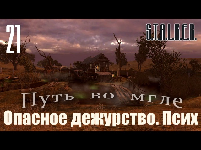 S.T.A.L.K.E.R. Spectrum Project : Путь во мгле (The way in the mist) 21 - Опасное дежурство. Псих