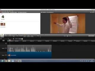 Наложение звука на видео в Camtasia Studio 8 (Как сделать видео для сайта)