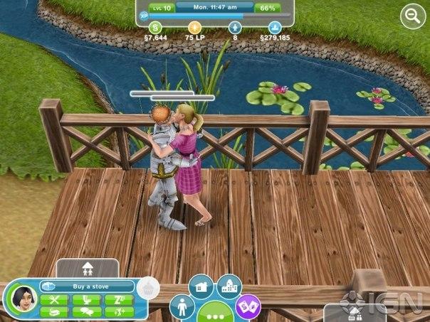Скачать  The Sims™ FreePlay для android