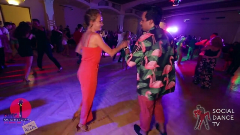 Борис Эча и Римма Яковлева - Salsa social dancing at the 2018 The Third Front Salsa Festival