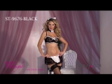 Sexy Lace French Maid Set ST 9676 BLACK