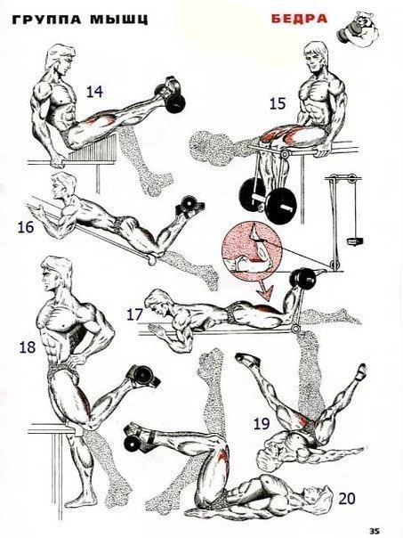 Как прокачать мышцы всего тела в домашних