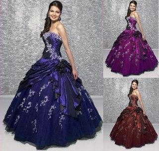 фото платья бальные