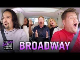 Broadway Carpool Karaoke ft. Hamilton More