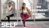 Self - Bodyweight Cardio HIIT Workout No Equipment | Интенсивная интервальная тренировка без инвентаря