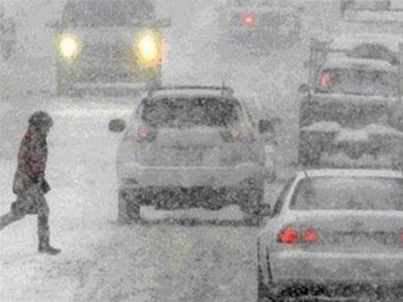 ДПЧС: В Таганроге и Ростове ожидается резкое ухудшение погоды, дожди, снег, метель