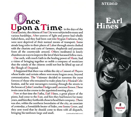 Earl Hines альбом Once Upon A Time