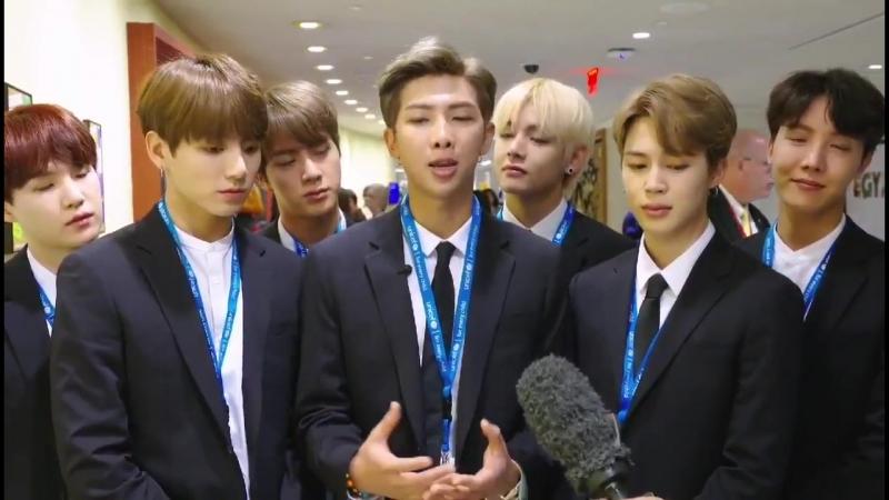 UNICEF 공식 홈페이지 BTS 영상22 - - 방탄소년단 BTS @BTS_twt - GenUnlimited Youth2030 UNGA BTSxUnitedNations