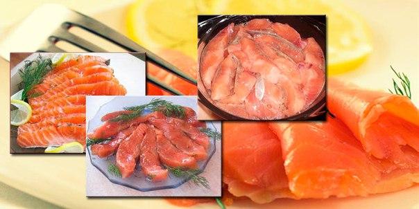 Приготовления рыбы горбуши в