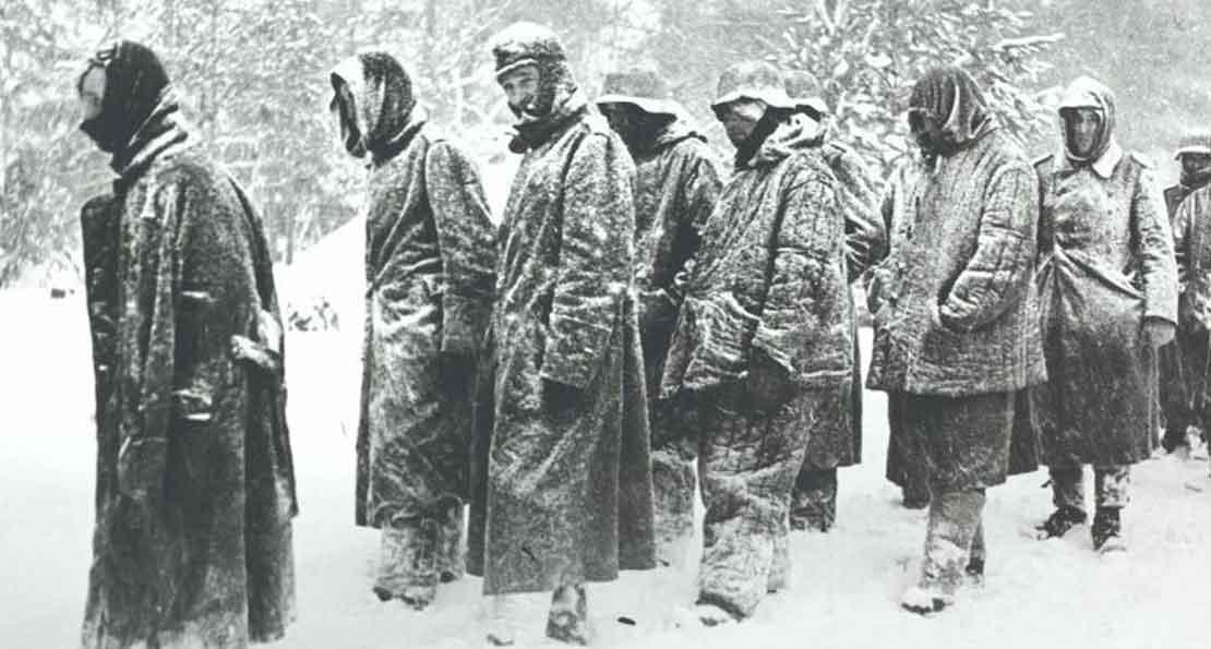 Немцы зимой