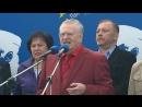 Цвет настроения - красный: Жириновский провел митинг в центре Москвы