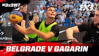 Belgrade v Gagarin Full Game FIBA 3x3 World Tour 2018 Debrecen Masters