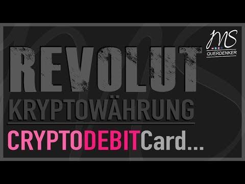 Revolut - ENDLICH wieder eine Krypto-Karte inkl. Bankkonto uvm.
