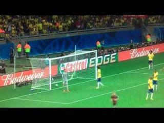 Бразилия - Германия 1-7 Футбол Чемпионат мира 2014 Лучшие моменты и голы разгром 08 07 14