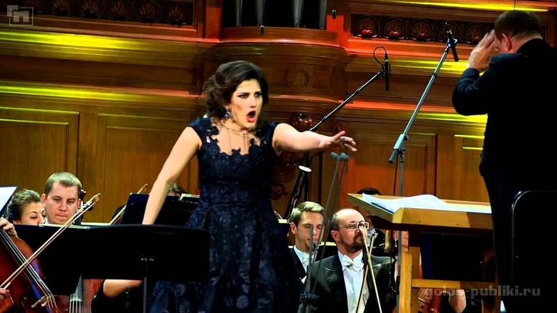 Dinara Alieva Pace pace mio Dio Moscow Conservatory Dec 07 2015