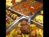 Аппетитные блюда в кафе Биг Шеф