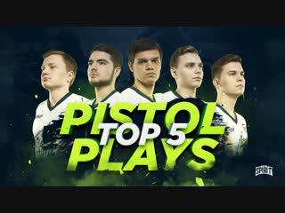 Team Spirit - Top 5 Pistol Plays