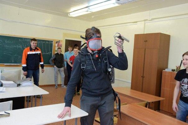 Пожарный квест для усть-илимских школьников