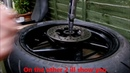 Aprilia RS 125 Removing stubborn stuck seized rear brake disc from rear wheel replacing brake disc