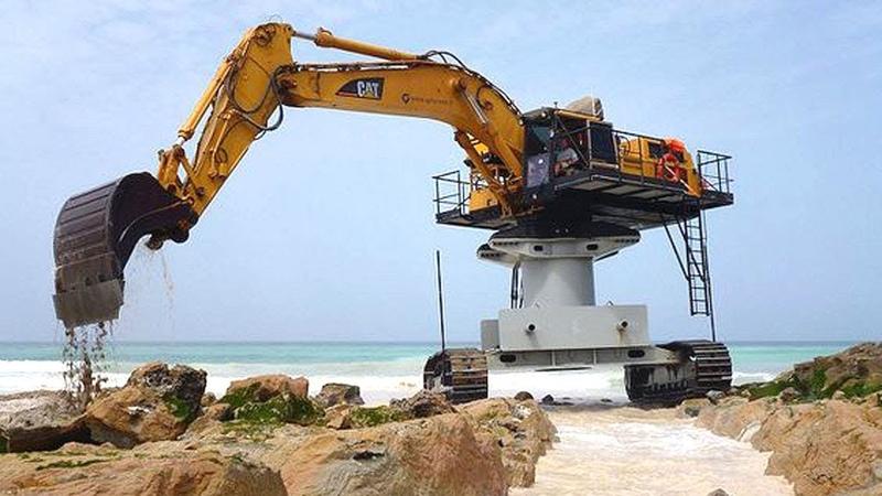 Extreme Dangerous Excavator Heavy Equipment Operator Skill Amazing Modern Construction Machinery