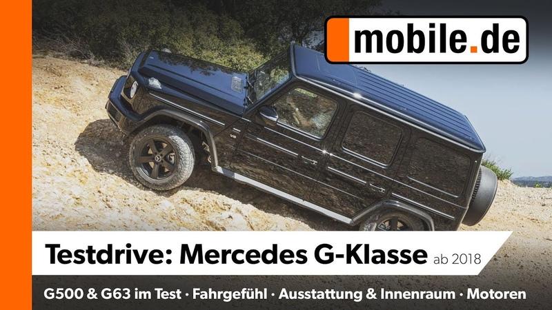 Mercedes G500 G63AMG | mobile.de Testdrive