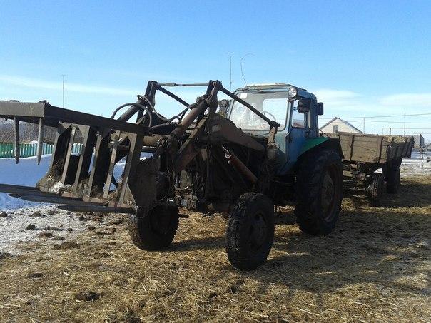 Как перевезти трактор мтз на автомобиле