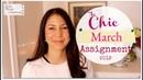 The Chic Assignment | March 2019 | Jennifer L. Scott
