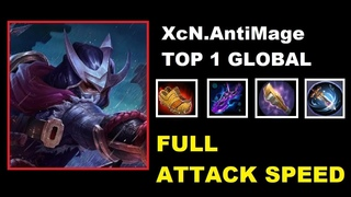 Hayabusa Full Attack Speed Top 1 Global Mobile Legends 2018