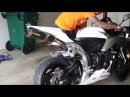 Honda CBR600rr exhaust sound Two Brothers Racing Mufflers