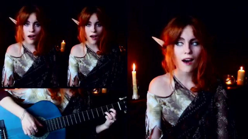 Dragon Age Origins Lelianas Song Gingertail Cover