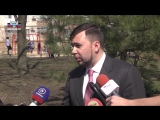 Денис Пушилин прокомментировал заявление Украины о завершении «АТО» и переходе к войсковой операции