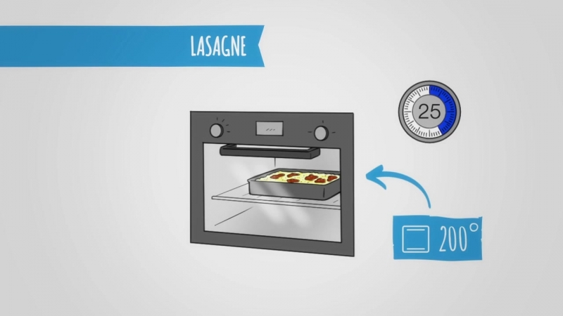 Lasagne: videoricetta per studenti di italiano