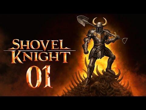 Время рыть! | Прохождение Shovel Knight - Серия №1