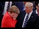 Трамп решил добить Меркель, аЮнкер ходит подмухой