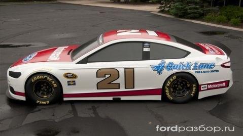 Подразделение компании Ford Racing, отвечающее за спортивные автомобили разработало гоночный вариант Ford Fusion для...