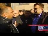 Михаил Саакашвили и Ваагн Чахалян (Драка в Ахалкалаке)