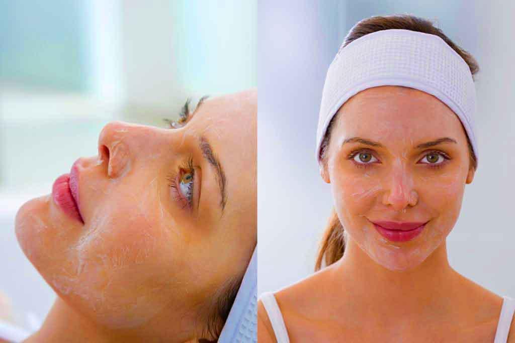 Преимущества многих кремов для пилинга лица включают увлажнение кожи и уменьшение появления тонких линий и морщин