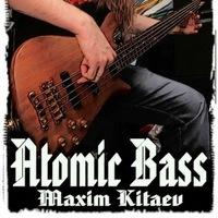 Логотип Максим Китаев - сессионый бас-гитарист, обучение