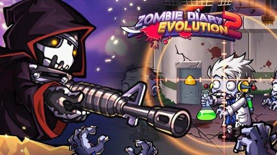 Скачать Zombie Diary 2: Evolution для android