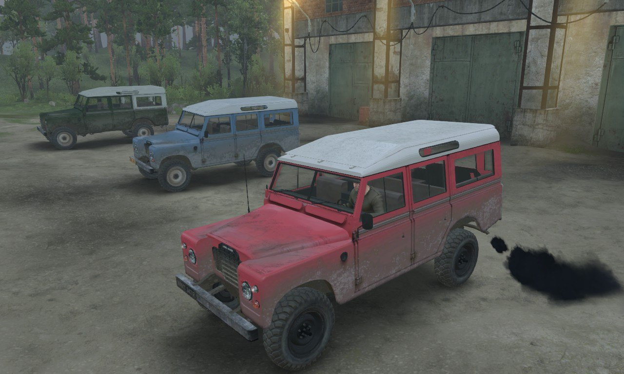 Land Rover series III для 03.03.16 для Spintires - Скриншот 1