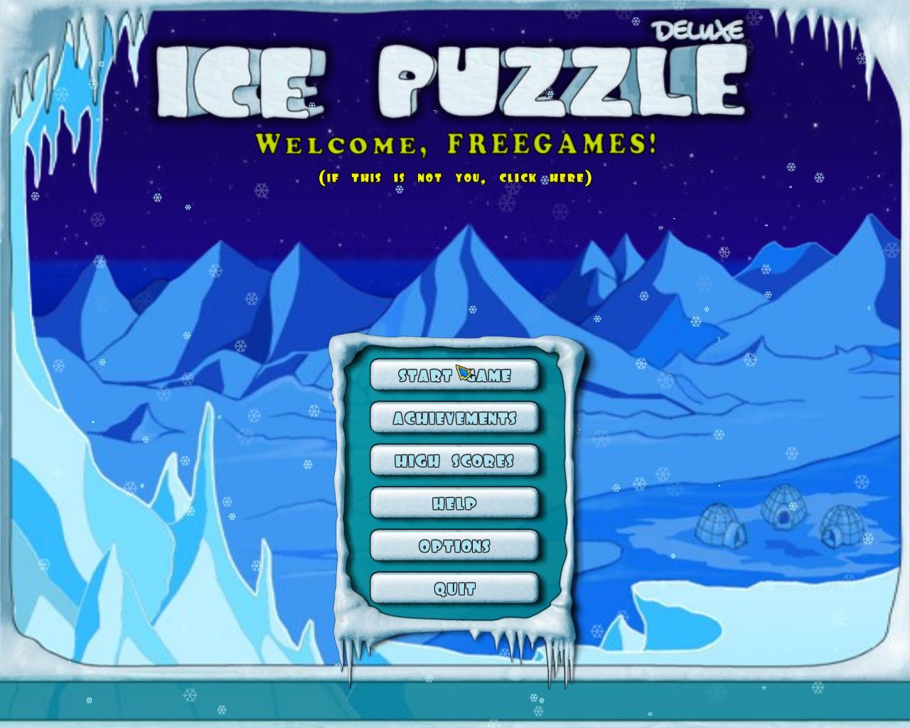 Ледяная головоломка | Ice Puzzle Deluxe (En)