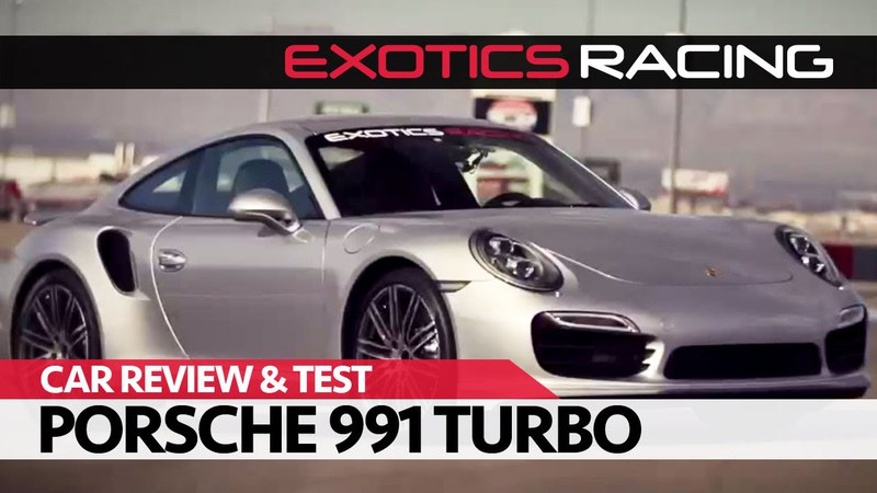 ExoticsRacing Las Vegas | Car Review Test Drive: FWD Porsche 911 (991 Mk1) Turbo!