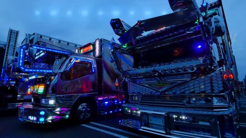 Самый яркий тюнинг грузовиков Dekotora